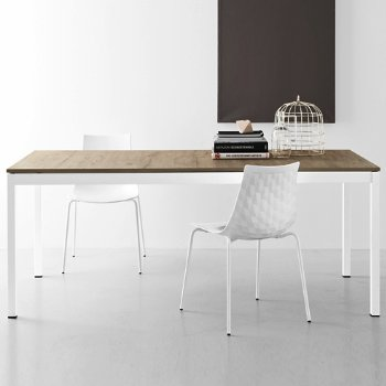 Ice Chair with Eminence Extension Dining Table