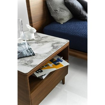 Shown in Natural finish, Natural legs