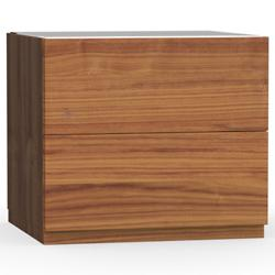 City 2 Drawer Nightstand