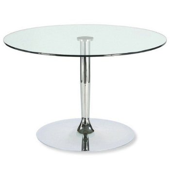 Shown in Chromed finish, Counter Height