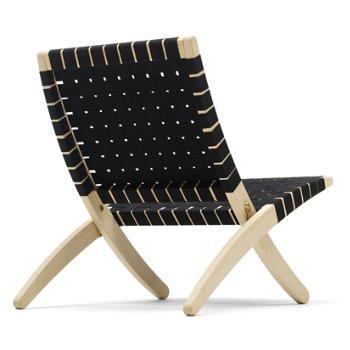 Shown in Black seat, Oak - White Oiled finish