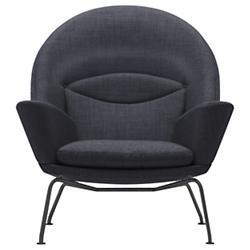 CH468 Oculus Lounge Chair - Black Edition
