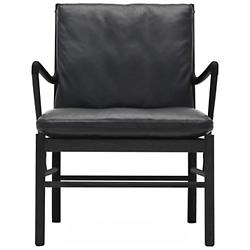 OW149 Colonial Chair - Black Edition
