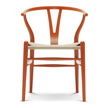 Shown in Beech - Orange Red frame finish