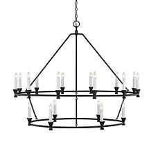 Keystone Two Tier Chandelier