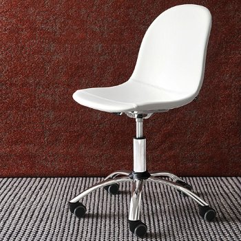 Academy Upholstered Swivel Office Chair