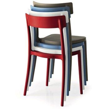 Argo Outdoor Stackable Chair, Collection