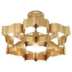 Grand Lotus Semi-Flushmount/Pendant