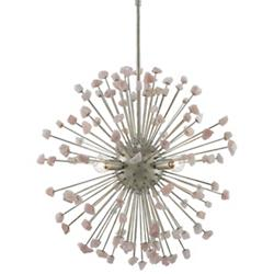 Quartz Moon Chandelier
