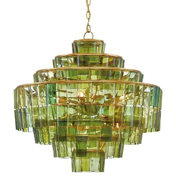 Shown in Green with Dark Contemporary Gold Leaf finish
