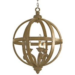 Axel Orb Chandelier (3 Lights) - OPEN BOX RETURN