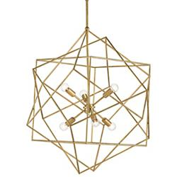 Aerial Chandelier (Antique Gold Leaf) - OPEN BOX RETURN