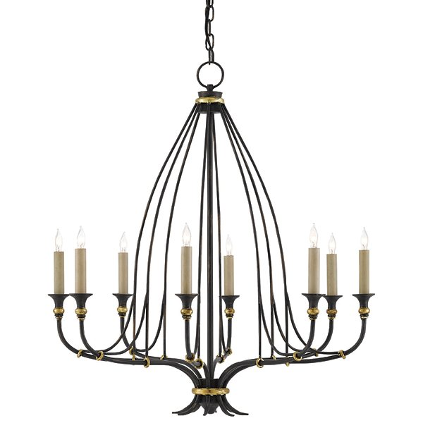 Folgate 8 Light Chandelier By Currey