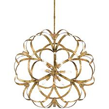 Sappho 9-Light Orb Chandelier