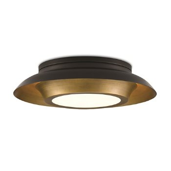 Shown in Painted Antique Brass finish, lit