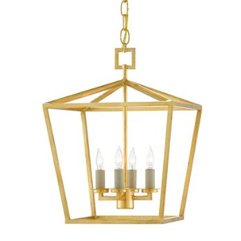 Shown in Gold finish, Small size