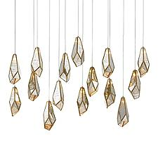 Glace Linear Multi-Light Pendant Light