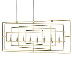 Metro Rectangular Chandelier
