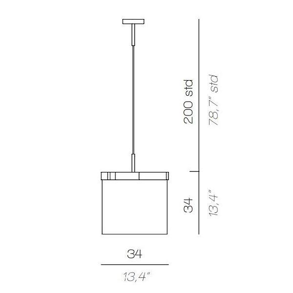 Arcipelago LED Pendant
