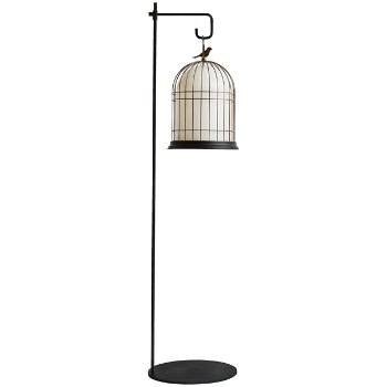 Wonderful Freedom Birdcage Outdoor Light Floor Hook Accessory