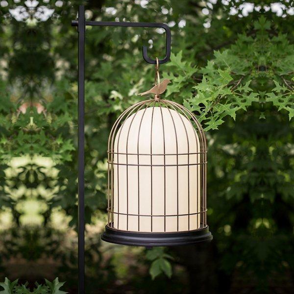 Freedom Birdcage Outdoor Light Floor Hook Accessory