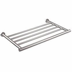 Architect Bracket Shelf Towel Rack (Chrome)-OPEN BOX RETURN