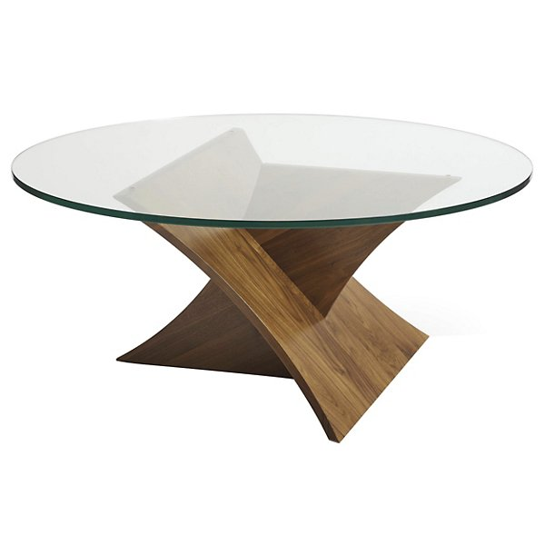 Planes Round Glass Top Coffee Table By Copeland Furniture At Lumens Com