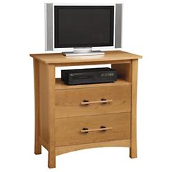 Monterey 2 Drawer Chest and TV Organizer