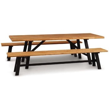 Essentials Farm Table with essentials farm bench