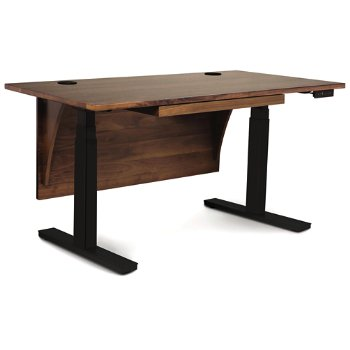 Shown in With Modesty Panel, Without Wood Legs, With Pencil Drawer