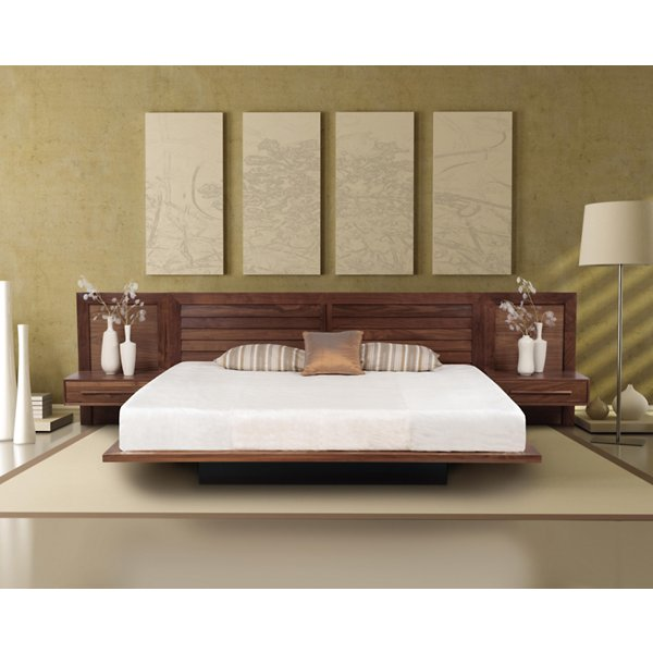 Moduluxe 35-Inch Box Nightstand for Platform Bed