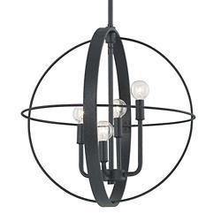 4 Light Orb Pendant