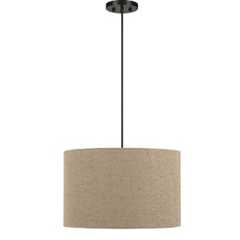 Shown in Light Tan Fabric Shade color