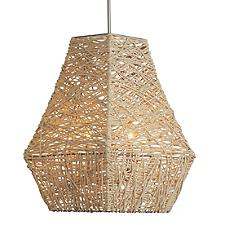 Jute Large Pendant Light