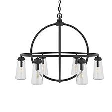 Barn Style Outdoor Chandelier