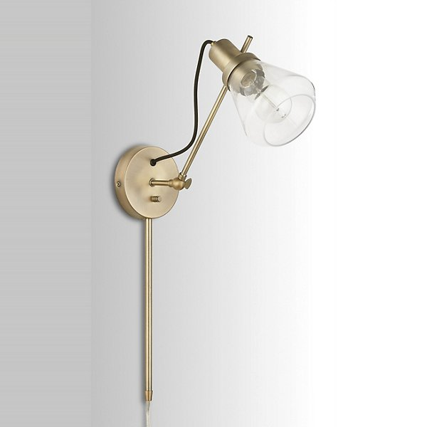 Adjustable Arm Wall Sconce