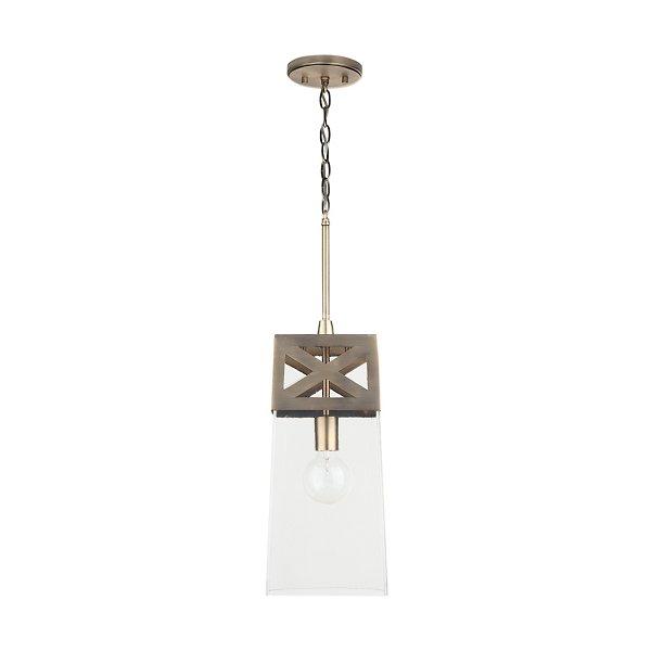 Square Metal Mini Pendant Light