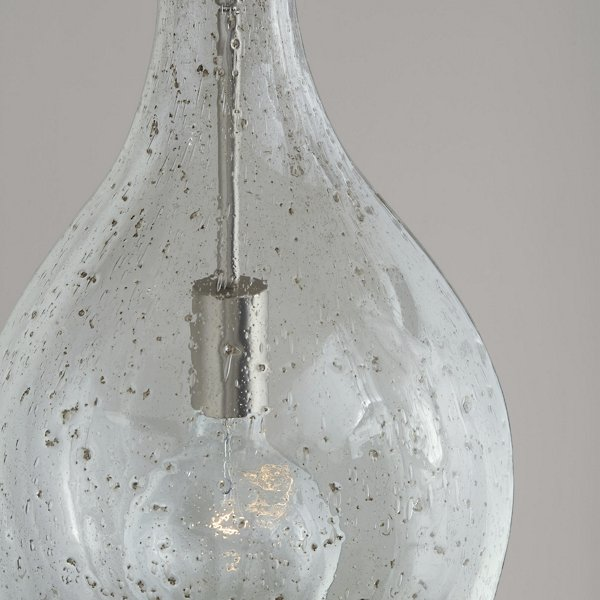 Large Seeded Glass Pendant