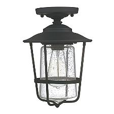 Creekside Caged Outdoor Semi-Flushmount Light