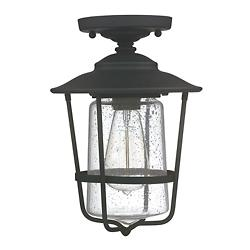 Creekside Caged Outdoor Semi-Flushmount