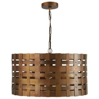 Shown in Patinaed Brass finish, unlit