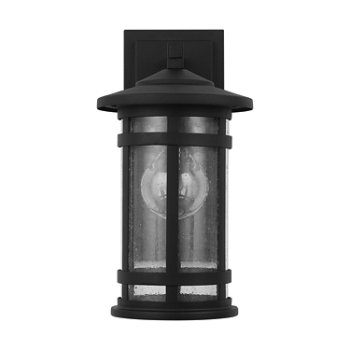 Shown in Black finish, Small size, unlit