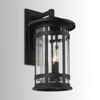 Shown in Black finish, Large size, lit