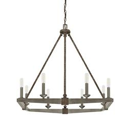 Zac 8 Light Chandelier
