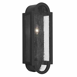 Monroe Outdoor Wall Sconce (Black/1 Light) - OPEN BOX RETURN