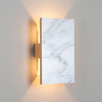 Shown in Carrara Marble/ Maple