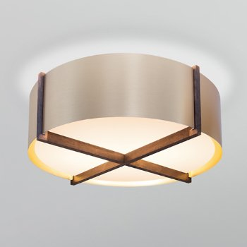 Shown in Brushed Brass shade