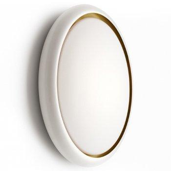 Shown in Outside White/Inside Gold finish
