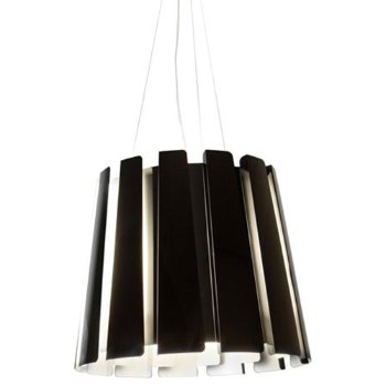 Shown in Black finish, Large / 17.7 in. D