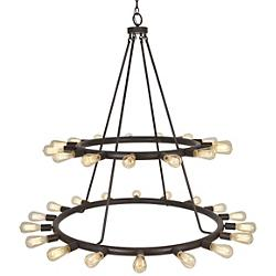 Dakota 2 Tier Chandelier